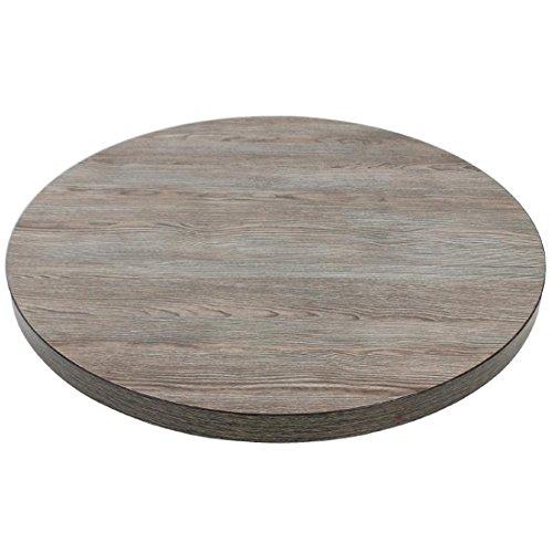 Bolero gr326tablero de la mesa, 48mm, 600mm, redondo Vintage madera