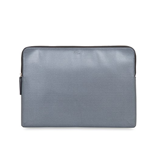 Knomo 14-208-SIL Embossed Sleeve for MacBook Pro for 15-Inch Laptop/Ultrabook - Silver