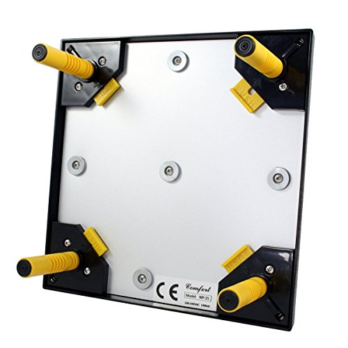 Küken-Wärmeplatten-Set: Wärmeplatte Comfort 25x25cm (15W, 230V) +Temperaturregler für die professionelle Kükenaufzucht, Heizmatte, Kükenwärmer, Heizkabel, Inkubator, Kunstglucke, Wärmebirne - 4