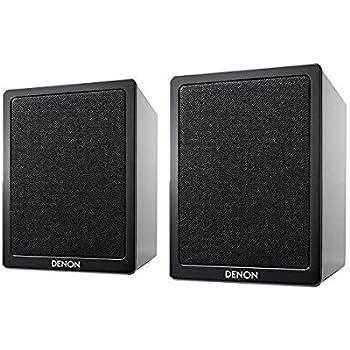 デノン ブックシェルフ型スピーカー (ブラック)【ペア】DENON CEOLシリーズ SC-N9BKEM
