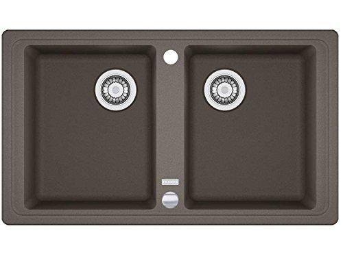 Franke Basis BFG 620Umbra FRAGRANITE grigio lavandino da cucina lavello cuscino da incasso
