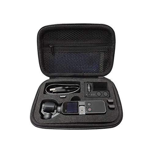 ChenYongPing Mochila portátil Impermeable para cámara Caja de Almacenamiento Cámara Bolsa de Transporte Caso de Shell de la Cremallera for Pocket Accesorios Negro (Color : Black, Size : One Size)
