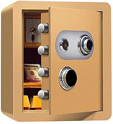 Caja fuerte caja de caja caja fuerte caja fuerte caja caja caja fuerte,caja de seguridad,contraseña mecánica antirrobo con gabinete interno Código de cama de cabecera Oficina segura All-Steel Cash Arc