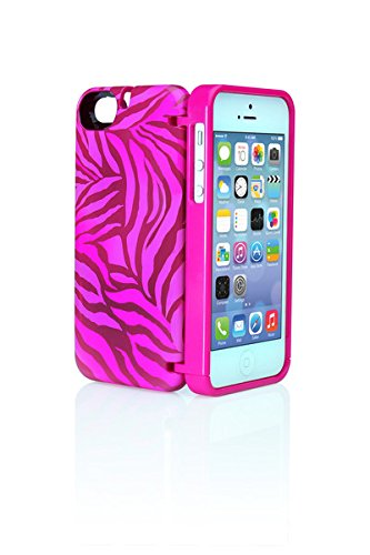 EYN iPhone Carrying Case for 5 and 5S - ZEBRA