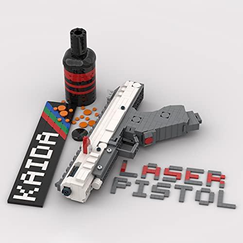 SESAY Tecnica - Set di mattoncini per fucile a laser, 627 pezzi, modello pistola, compatibile con Lego