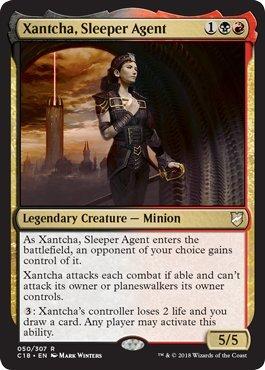 Magic: The Gathering - Xantcha, Sleeper Age - Commander 2018