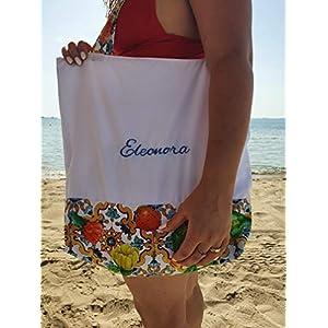 Handgefertigt Damen Schultertasche personalisiert Umhängetasche Elegant Shopper Tasche einkaufstasche Strandtasche mit…