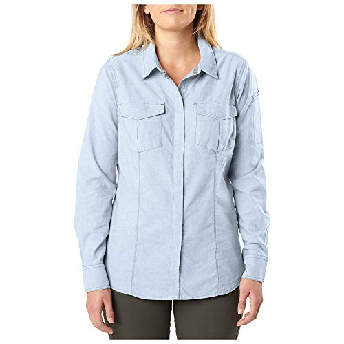5.11 Tactical Series 511-62386 Chemise Femme, Skyfall, FR : S (Taille Fabricant : S)