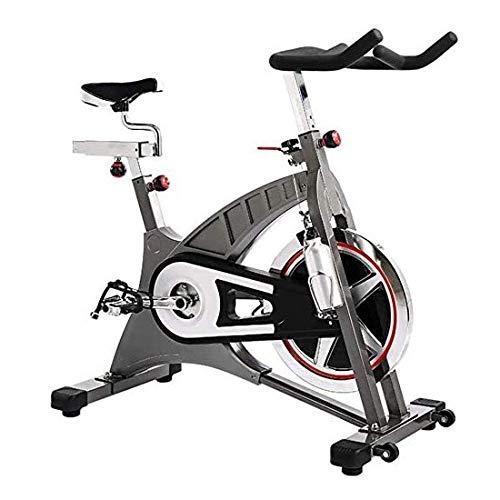 Bicicleta estática for el hogar, la bicicleta de gimnasio deportivo volante de inercia 20 kg con altura regulable freno magnético for la formación de Ministerio del Interior de peso máximo del usuario