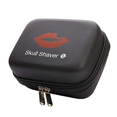 Skull Shaver Pitbull Travel Case for Batterfly and Pitbull Series Shavers (Black)