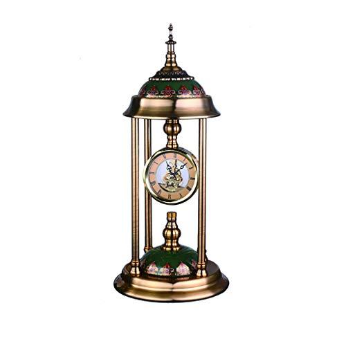 Reloj Despertador El reloj de tabla Inicio / moda, retro, dormitorio, oficina / escritorio del reloj de péndulo / Sala de estar mesa de despertador, Reloj de la chimenea, 18.1 pulgadas Reloj de Escrit