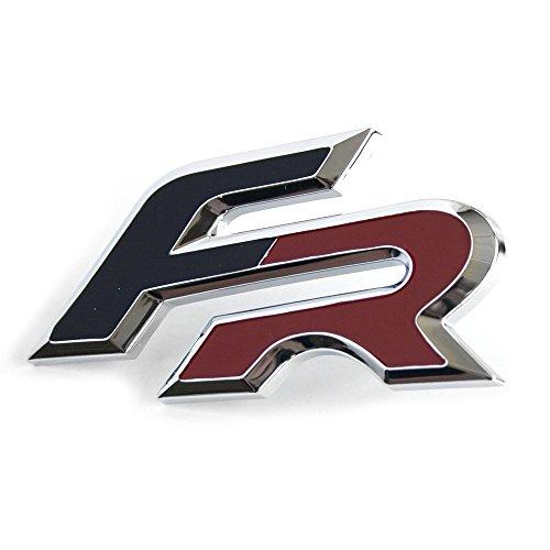Emblema original de Seat FR para parrilla delantera Tuning Formula Racing Logo