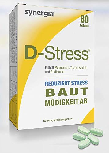 D-Stress ➠ Hochassimiliertes Magnesium, Taurin, Arginin und die Vitamine B (B6, B5, B3 und B2) ➠ Herkunft Frankreich