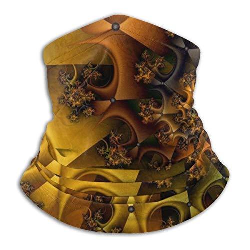 Dydan Tne Calentador de Cuello, Polaina Abstracta de Microfibra Suave para la Cabeza, máscara de Bufanda para el Invierno, Clima frío para Hombres y Mujeres NCK-1178