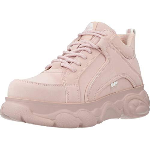 Buffalo Damen Corin Hohe Sneaker, Pink (Light Pink 000), 38 EU