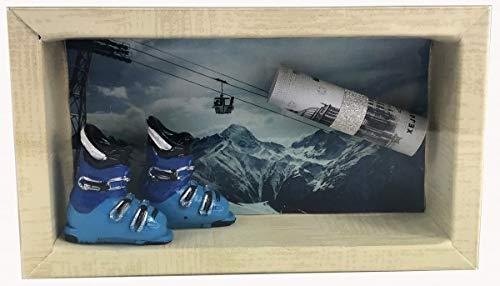 unser schönster Tag Geldgeschenk Gutschein Ski Skiurlaub GS018