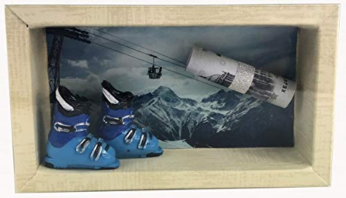 Geldgeschenk Gutschein Ski Skiurlaub GS018
