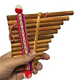 NO LOGO JNT- Amérique du Sud Instrument de Musique Indiana flûte de pan Equateur Pérou panflute Couleur Lumineux...