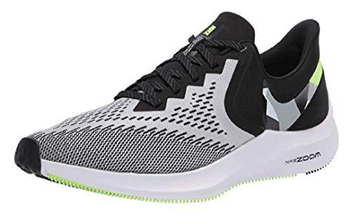 Nike Men's Air Zoom Winflo 6 (Black/Particle Grey,105)