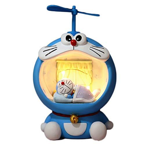Hucha Durable de la decoración del regalo casa con la luz, for Nursery, dormitorio, regalo, bautismo, cumpleaños, familia Piggy de escritorio hucha Banco de la Infancia Anti-Caída y Regalo de los niño