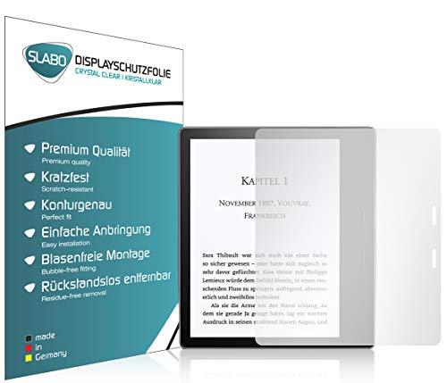 Slabo 2 x Bildschirmschutzfolie für Amazon Kindle Oasis 10. Generation (2019)   Kindle Oasis 9. Generation (2017) Bildschirmschutz Schutzfolie Folie Crystal Clear KLAR