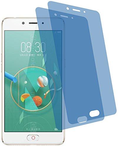 4ProTec I 2X Crystal Clear klar Schutzfolie für ZTE Nubia N2 Premium Bildschirmschutzfolie Displayschutzfolie Schutzhülle Bildschirmschutz Bildschirmfolie Folie