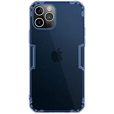 """Nillkin Case for Apple iPhone 12 / Apple iPhone 12 Pro (6.1"""" Inch) Nature Series Back Soft Flexible TPU Blue Color"""