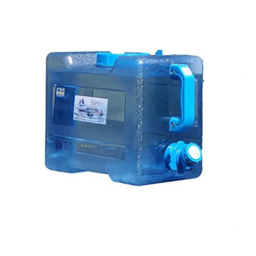 Almacenamiento de agua Cubo portátil Tanque de Agua de Grado alimenticio para PC, Seguro y ecológico, Adecuado para Acampar, al Aire Libre, Viajes autónomos, Uso doméstico, etc. ZLINFE