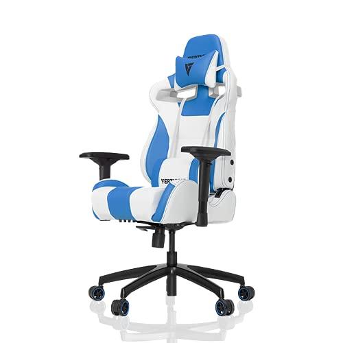 VERTAGEAR S-Line 4000Gaming Chair, White/Blue, Medium