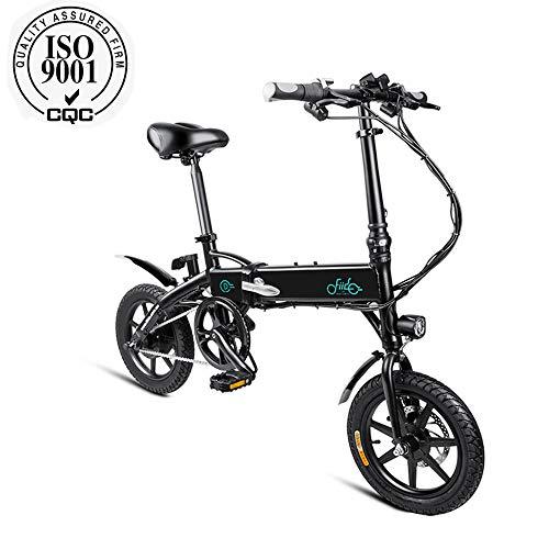 Bicicleta mística eléctrica mysticall para adulto, bicicleta eléctrica, motor eléctrico de 250 vatios Scooter eléctrico, bicicleta eléctrica plegable con pedales de 7.8Ah / 10.4Ah, hasta 25 km/h