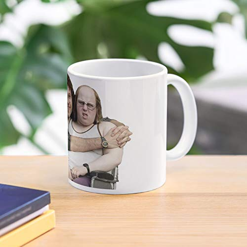 Allbirds Vicky Pollard Only Gay In The Village Dame Sally Markham Andy and Lou Hollywood Sitcom World Record Breaker Little Britain Taza de café con Leche 11 oz