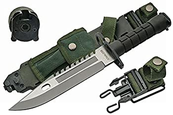 SZCO Supplies 13  M-9 Bayonet Military Style Tactical Saw Back Knife