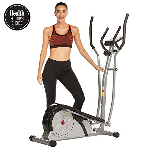 Read About ANCHEER Elliptical Machine, Elliptical Exercise Training Machine for Home Use with Pulse ...