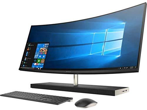 "HP Envy 34 Curved Desktop 2TB SSD 32GB RAM (Intel Core i7-8700T Processor Turbo Boost to 4.00GHz, 32 GB RAM, 2 TB SSD, 34"" WQHD LED(3440x1440),Win 10) PC Computer All-in-One"