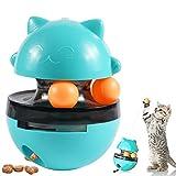 omzgxgod giochi per gatti,giochi gatto interattivo,giochi per gatti 4 in 1 distributori di cibo per gatti cani giocattoli gatto interattivi palla