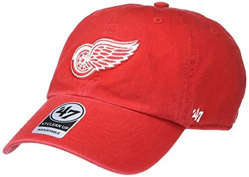 '47 Brand NHL Clean Up Gorra, Talla única, Mujer, Rojo, Talla única
