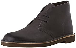 Clarks Men's Bushacre 2 Chukka Boot, Grey Leather, 7 M US (B00UWJ2ESA) | Amazon price tracker / tracking, Amazon price history charts, Amazon price watches, Amazon price drop alerts