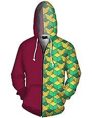 Heren Hoodies 3D Gedrukt Cool Streetwear Mannen Hoodie Pullover Casual Hooded Cosplay Sweatshirts S-5XL
