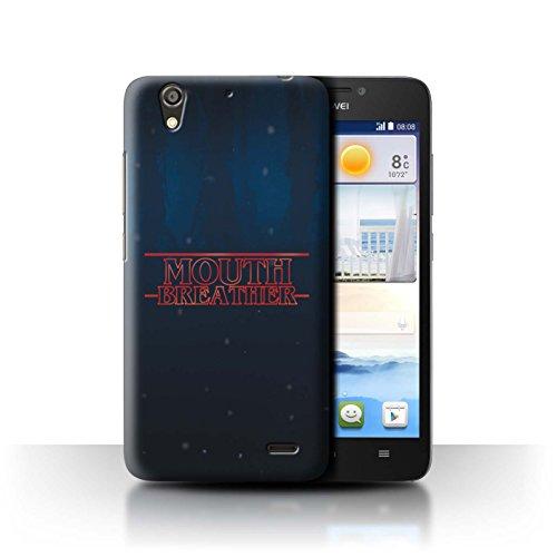 Hülle Für Huawei Ascend G630 Seltsam Retro M&entlüftung Design Transparent Ultra Dünn Klar Hart Schutz Handyhülle Case