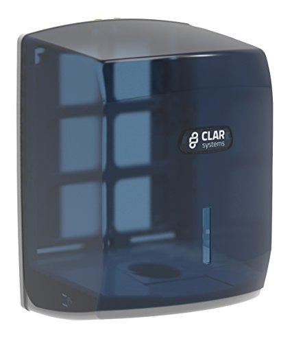 Clar Systems M1100PT Dispensador de Papel Mecha, Transparente