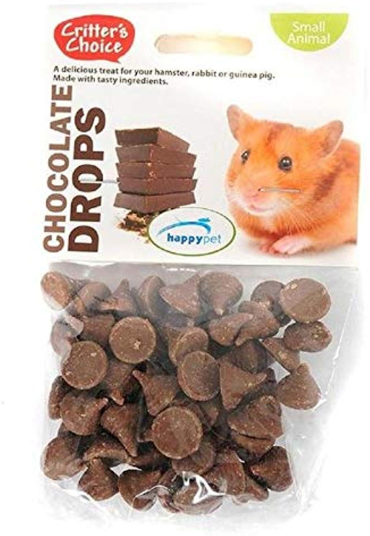 4X Critter's Choice Chocolate Drops 75g