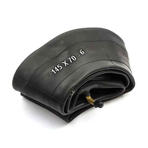 PetrolScooter tubo interior 145 x 70-6 145x7.00-6 145/70-6 6' Válvula doblada de 6 pulgadas de 6 pulgadas cortacésped