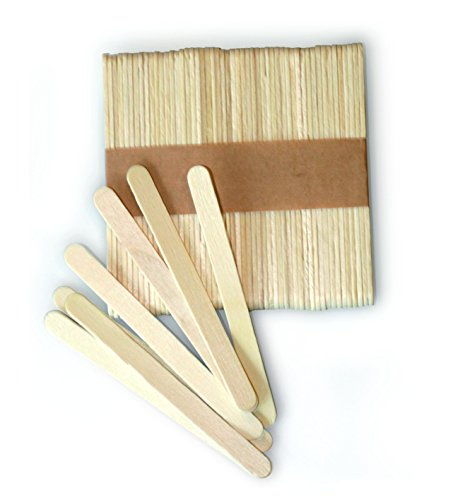 silikomart Kit de 100 palitos de Madera 72 x 8 x 2 mm