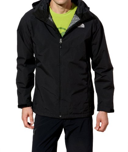 THE NORTH FACE Herren Outdoorjacke Stratos, tnf black, XL, T0AZLRJK3