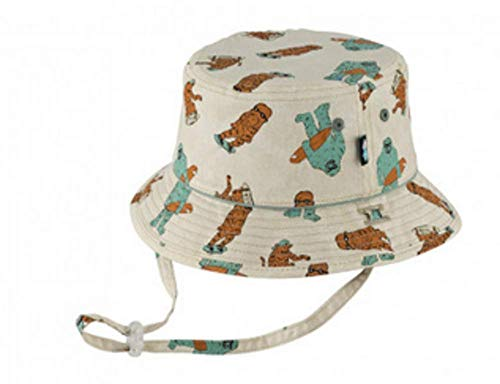 Baby Millymook Girl/'s Legionnaire Peony Mint Floral Beach Sun Hat UPF 0 12 mons