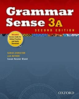 Grammar Sense 3A Student Book with Online Practice Access Code Card