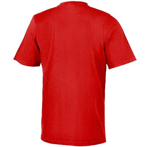 Adidas Men's Trefoil T-Shirt - Scarlet, Small