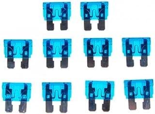 figatia 10x 32V / 15A Mini Blade Sortimento Auto Truck Motorcycle Fusíveis Azul