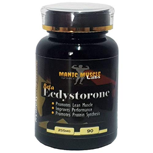 Manic Muscle Labs Beta Ecdysterone 255mg 90 Capsules