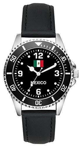 Mexico Mexiko Mexikaner Geschenk Artikel Idee Fan Uhr L-6337